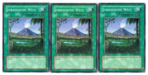 3 x Jurassische Welt  SD09-DE019