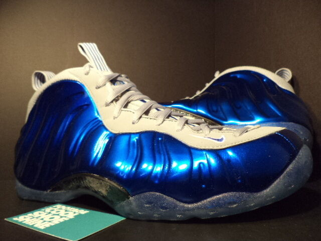 Nike Air FOAMPOSITE ONE 1 PENNY ORLANDO MAGIC ROYAL blueE WOLF GREY 314996-401 12