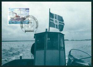 SystéMatique Norvège Mk 1997 Post Postschiff Navire Ship Carte Maximum Maxi Card Mc Cm En94 Convient Aux Hommes Et Aux Femmes De Tous âGes En Toutes Saisons