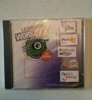 009 Sealed Lexmark Work Shop For Photos Cd Rom
