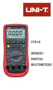 UNI-T-UT61E-Digital-Multimeter-RS232-PC-interface