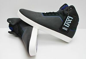 a0c92479cd Image is loading Vans-LXVI-Stat-Charcoal-Royal-VN-0RRMY56-Men-