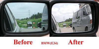 wider vision WHITE CONVEX Mirror Glass for  BMW E28 E30 E34 E36