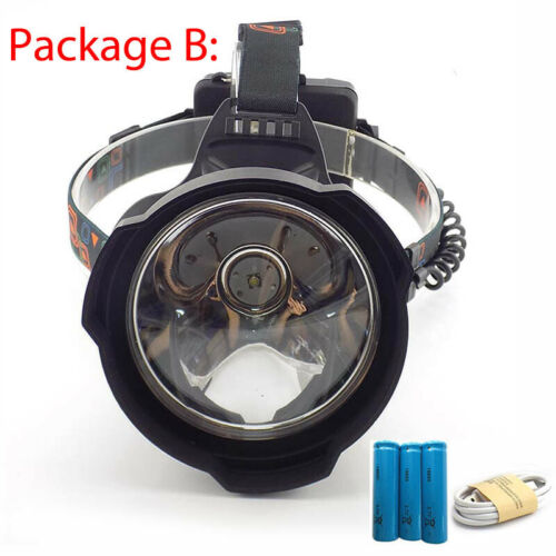 New Rechargeable USB LED Headlamp 18650 T6 Headlight Night Head Torch Flashlight