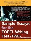 Sample Essays for The TOEFL Writing Test Twe by Anonymous 9781411607743