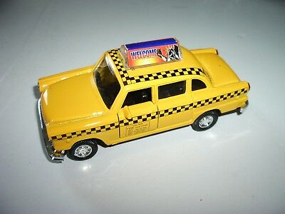 Schylling NYC Taxi in Yellow with Pullback Action