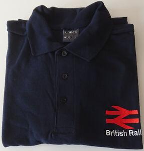 ENGLISH ELECTRIC INSPIRED POLO SHIRT TRAIN DRIVERS UNIFORM BR BRITISH RAIL