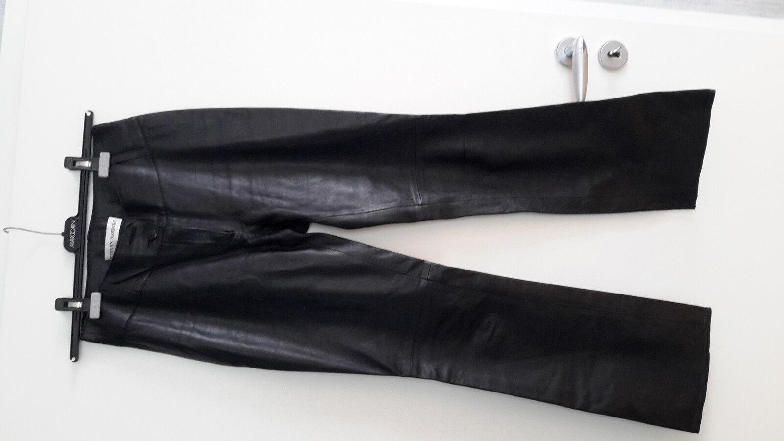 Schwarze Damen Lederhose Marke STEVEN ASHFORD Gr. 36   Billiger Billiger Billiger als der Preis    Ich kann es nicht ablegen    Wirtschaft  e0a6db