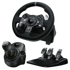 Logitech G920 Driving Force Wheel for Xbox One / PC + Shifter NEW