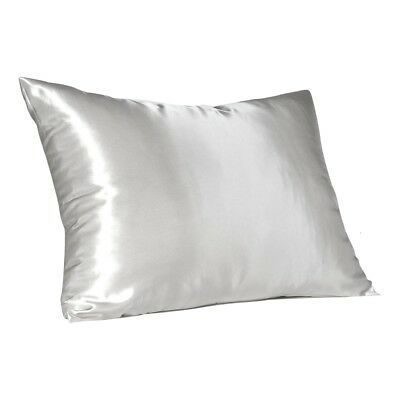 Soft Silky Satin Pillow Case Great For Hair and Skin With Zipper