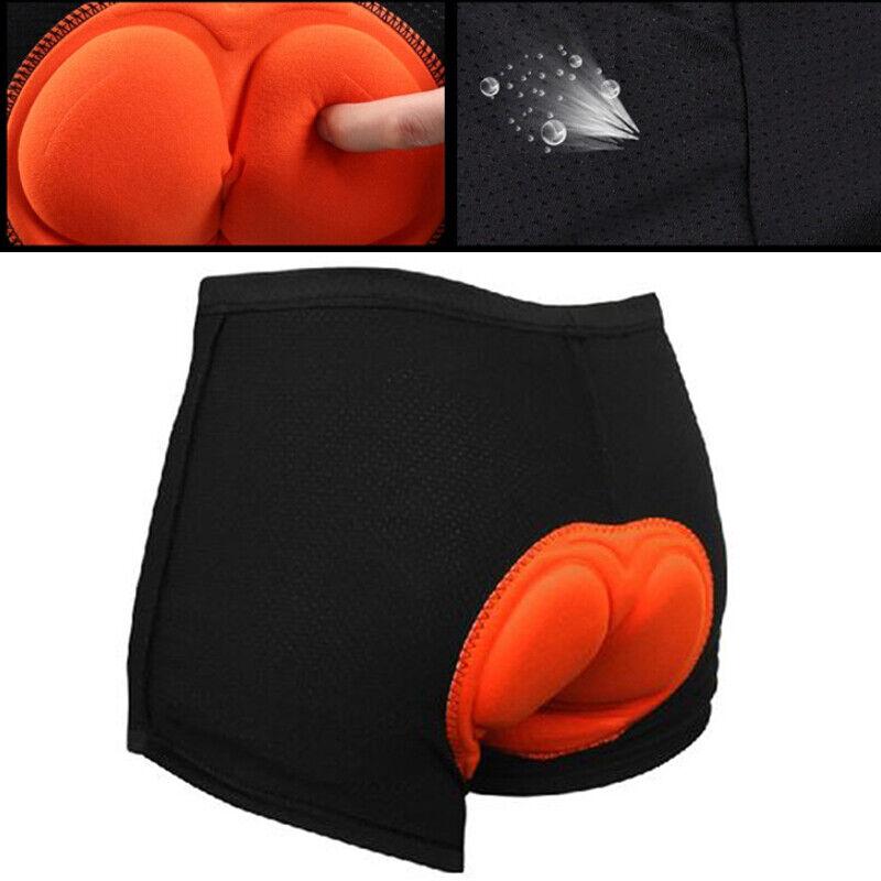 Herren 3D gepolsterte Radhose Radlerhosen Fahrrad Kurze Hose Unterwäsche Shorts