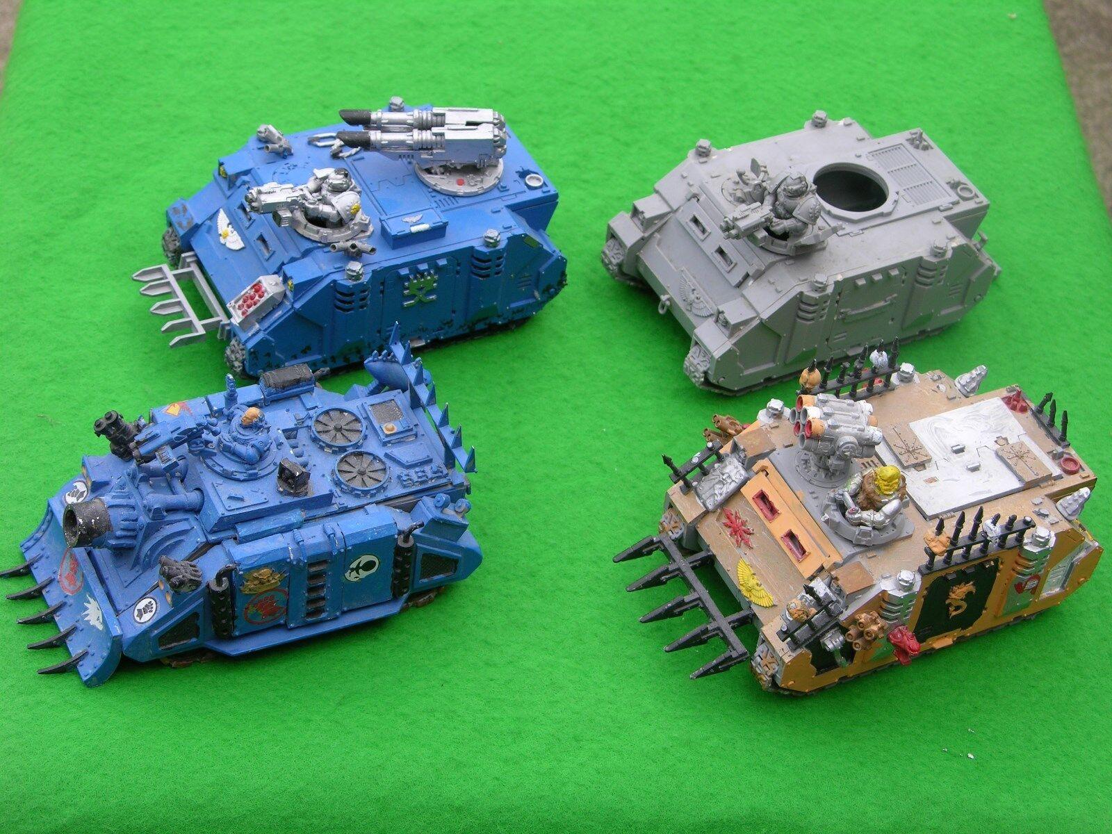 Wh40k, truppentransporter und assult fahrzeuge, multi-listing
