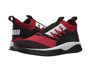 PUMA White Men's Tsugi Jun Sneaker | Red Dahlia Black White PUMA | 12 M US 323c4d