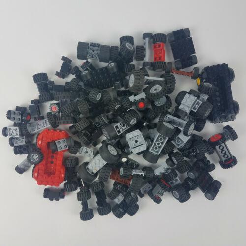 Legos Wheels Tires Axels HUGE BULK LOT 1//2 POUND RANDOM PULL Lego Mix