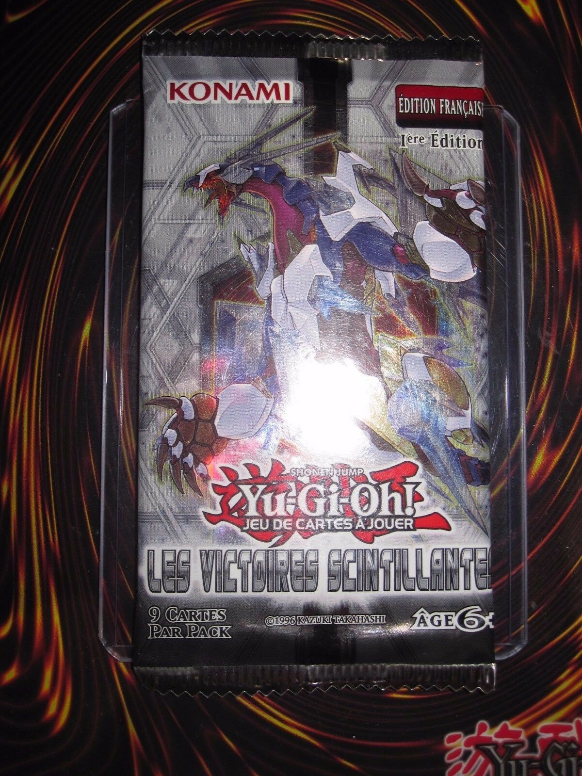 Yu-gi-oh  booster 9 cards missing the victories twinkling 1 st edition