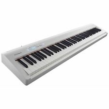 Roland FP-30 White 88-Key Digital Piano Keyboard With Bluetooth & Damper Pedal