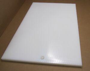 "UHMW PE Plastic Sheet 1//4/"" x 24/"" x 36/"" White"