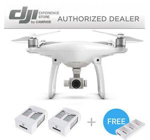 DJI-Phantom-4-Two-Extra-Batteries-Battery-Charging-Hub-Drone-UAV-Bundle