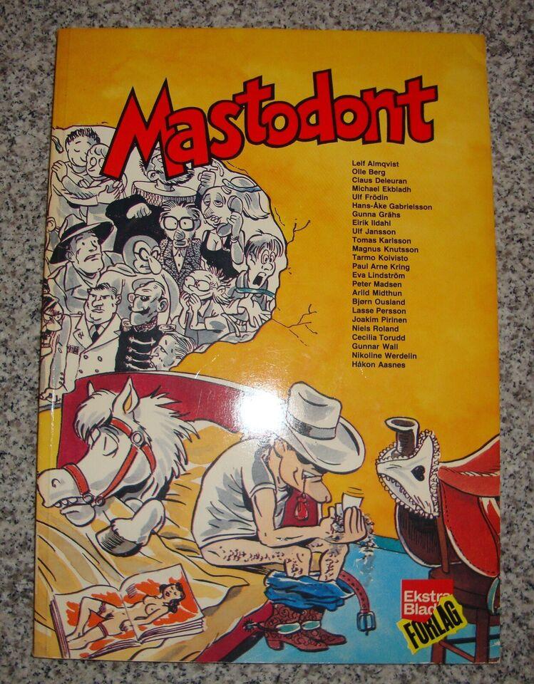 Tegneserier, Mastodont