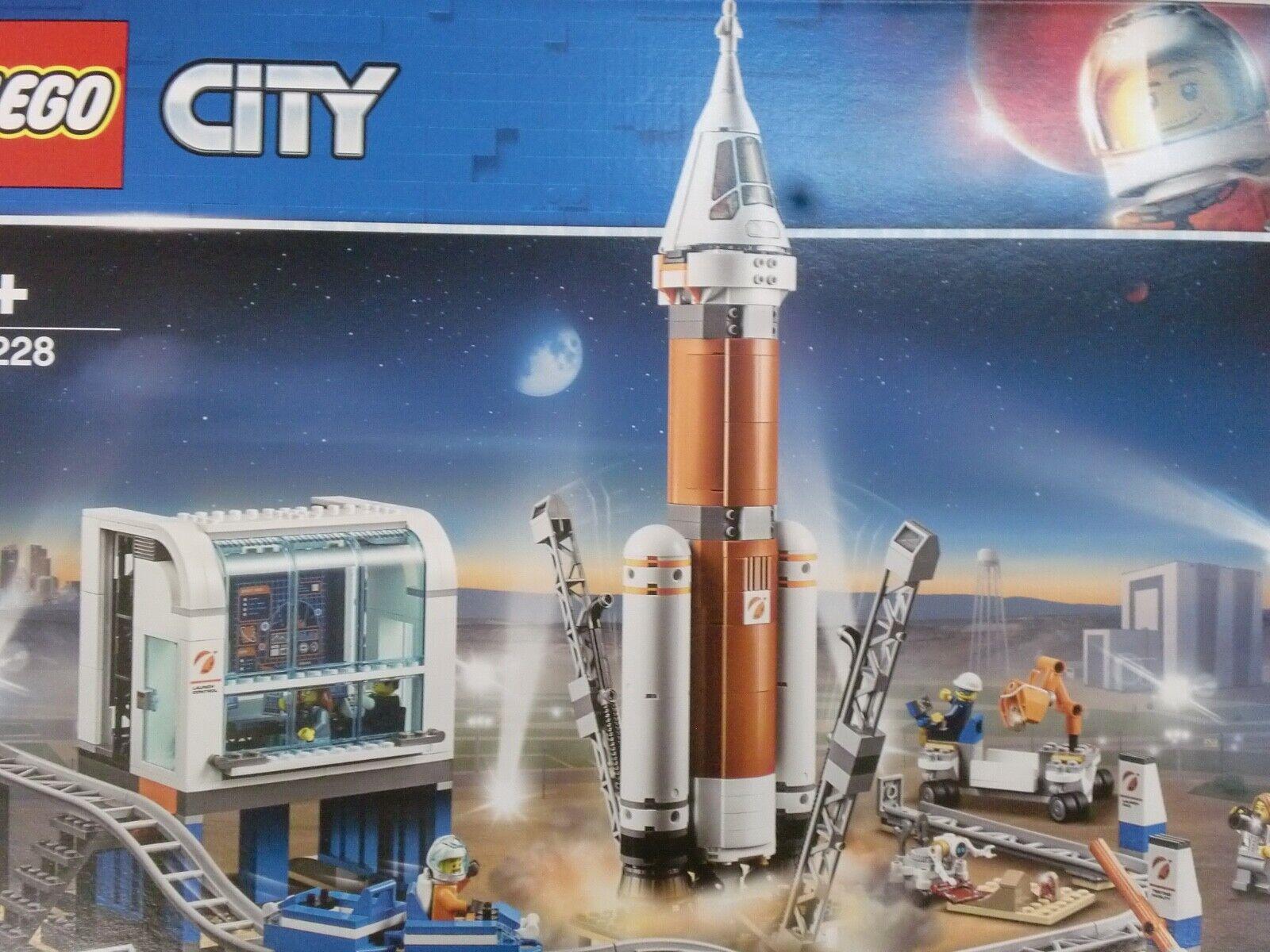 LEGO 60228 - RAZZO SPAZIALE E CENTRO DI CONTROLLO  - SERIE CITY