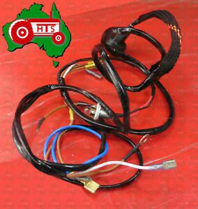 image is loading tractor-massey-ferguson-alternator-wiring-harness-fe35-23c