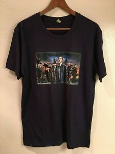 One Season Official Cast Gotham M Condition size amp; T Great Crew shirt Dc 5pSxA6q