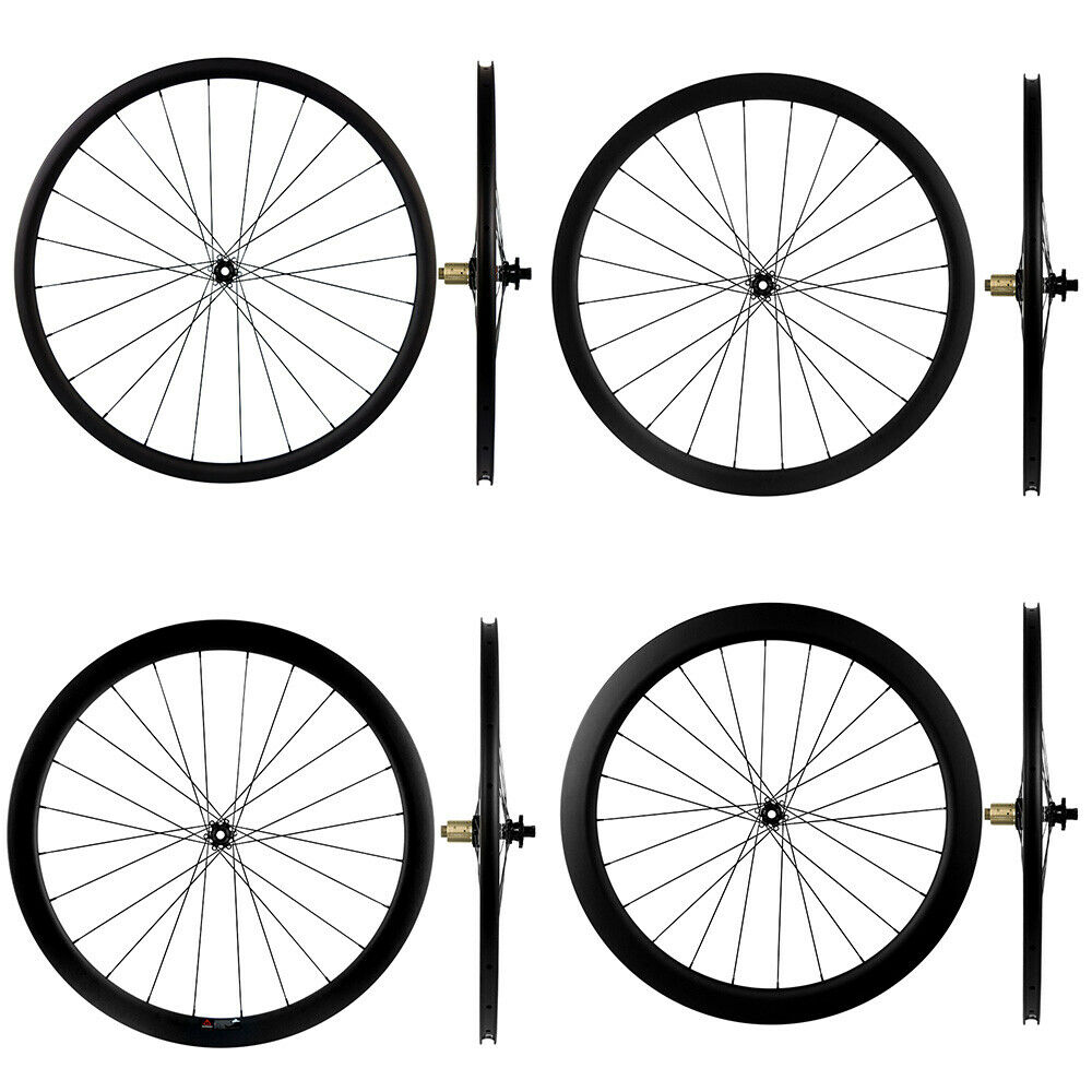 Cyclocross Wheels Carbon Bike Bicycle Disc Wheelset Novatec 411-412 6 Bolts