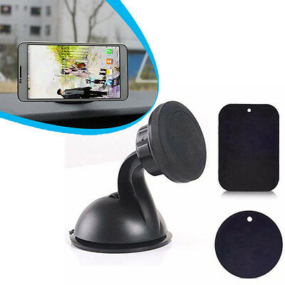 Universal 360° Car Mount Ball Sticky Magnetic Stand Holder For Cell Phone GPS UK