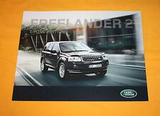 Land Rover Freelander Sport Ed. 2012 Prospekt Brochure Depliant Catalog Broschyr
