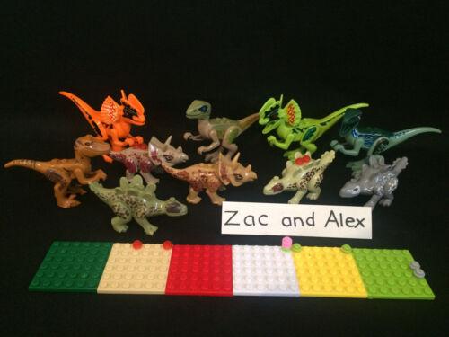 Tyrannosaurus Park works with Jurassic world Lego toy Dinosaurs Dinosaur Sets