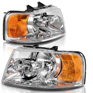 Details about FLEETWOOD BOUNDER 2006 2007 2008 PAIR FRONT HEAD LIGHT LAMP  RV HEADLIGHT - SET