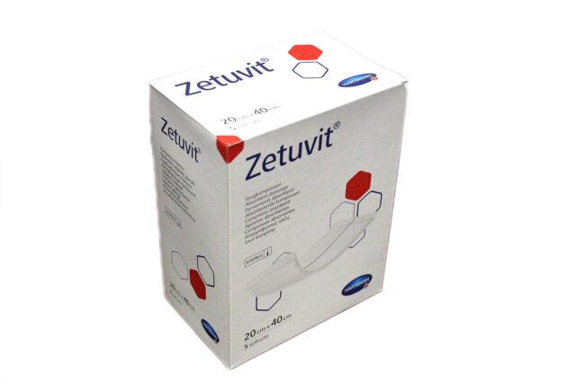 Zetuvit Saugkompresse steril 20x40cm 5 St Hartmann AG