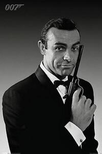 2019 Nouveau Style James Bond 007 : Connery Smoking - Maxi Poster 61cm X 91.5cm Nouveau Et Scellé Technologies SophistiquéEs