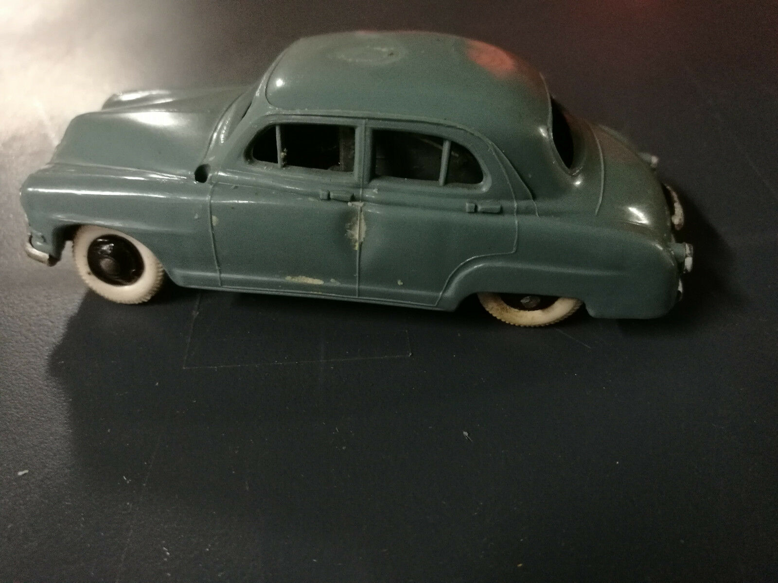 The miniature rare norev simca dove has friction