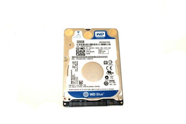 """Western Digital WD3200LPVX 320GB 5400RPM 2.5/"""" SATA Laptop Hard Drive N12F5"""