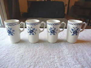 Vintage-Set-Of-4-Adams-034-Baltic-034-4-034-Size-Cups-034-BEAUTIFUL-COLLECTIBLE-SET-034
