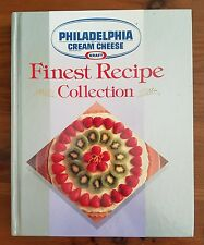 Philadelphia Cream Cheese Finest Recipe Collection Cookbook Kraft 1992 Hardcover