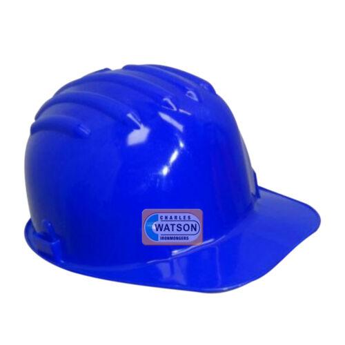 BLEU Casque Sécurité Chantier Chapeau dur Bump Cap Impact EN397 Workplace Health