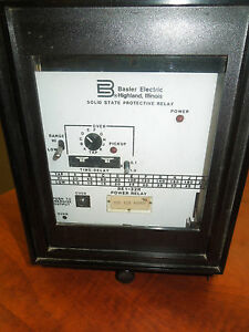 Basler Electric Solid State Protective Relay BE132R Power Relay eBay