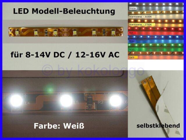 LED Lighting White 10cm 8-16V Interior Lighting Platform Houses Fair S333