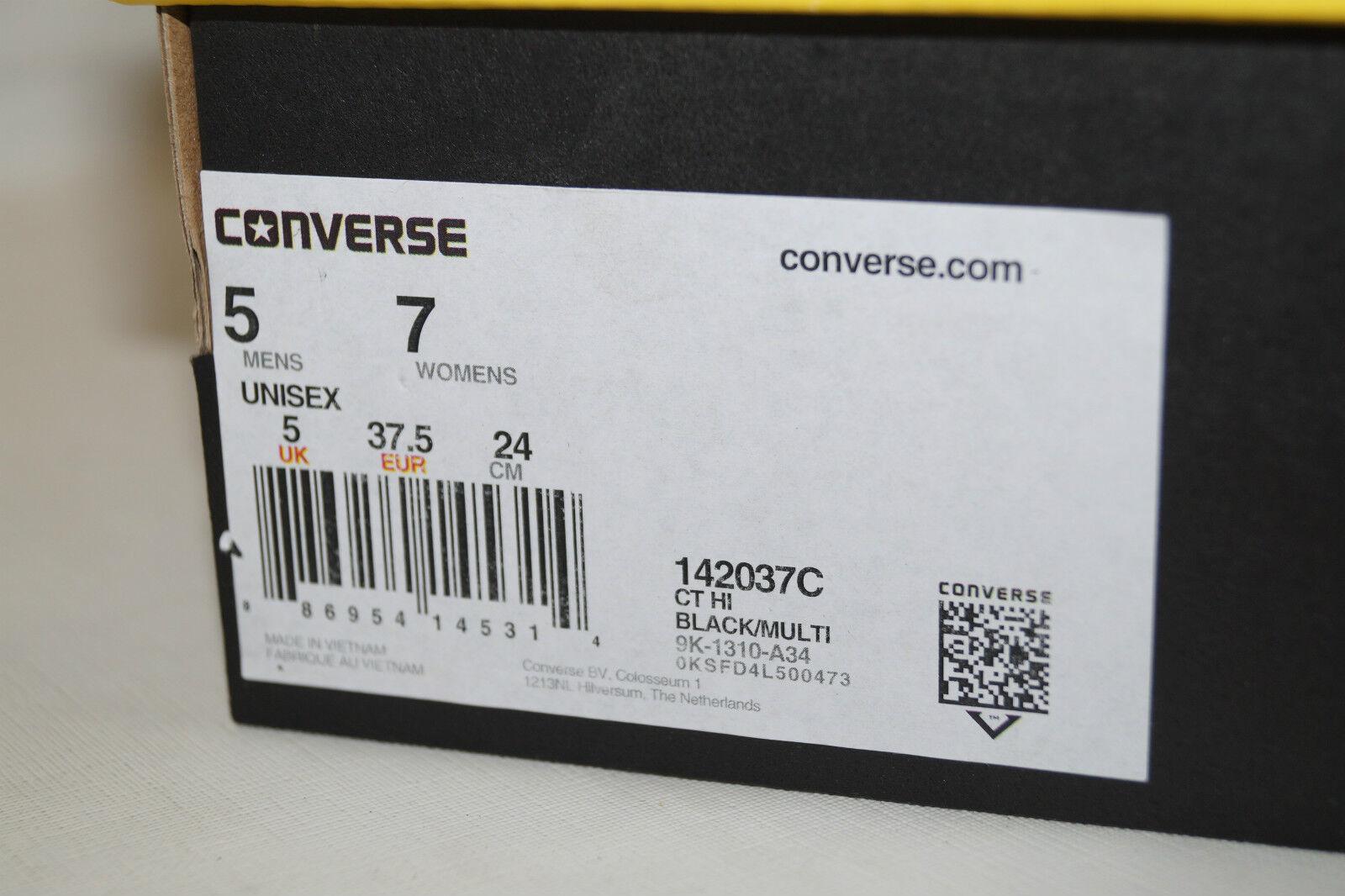 CONVERSE CHUCKS ALL STAR HIGH Gr.37,5 UK 5 5 UK  HI BARTMAN SIMPSONS 142037C e7a48b