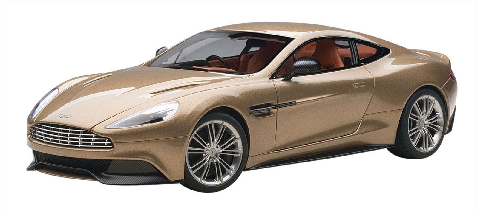 AUTOart 1/18 Aston Martin Vanquish 2015 Bronze Diecast Model 70248