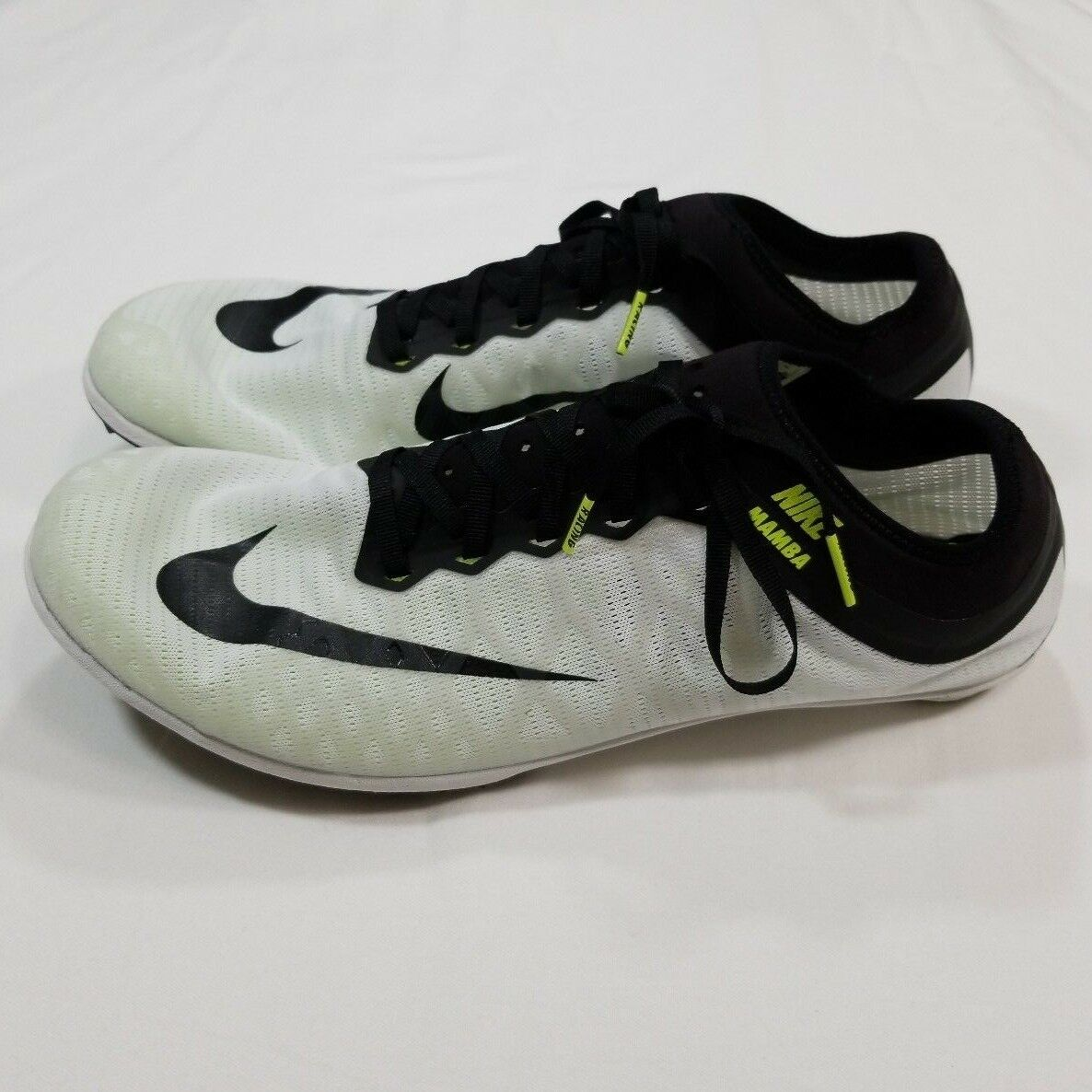 Nike Men's 14 Zoom Mamba 3 Track And Field Cleats Spikes Black White 706617-106 best-selling model of the brand
