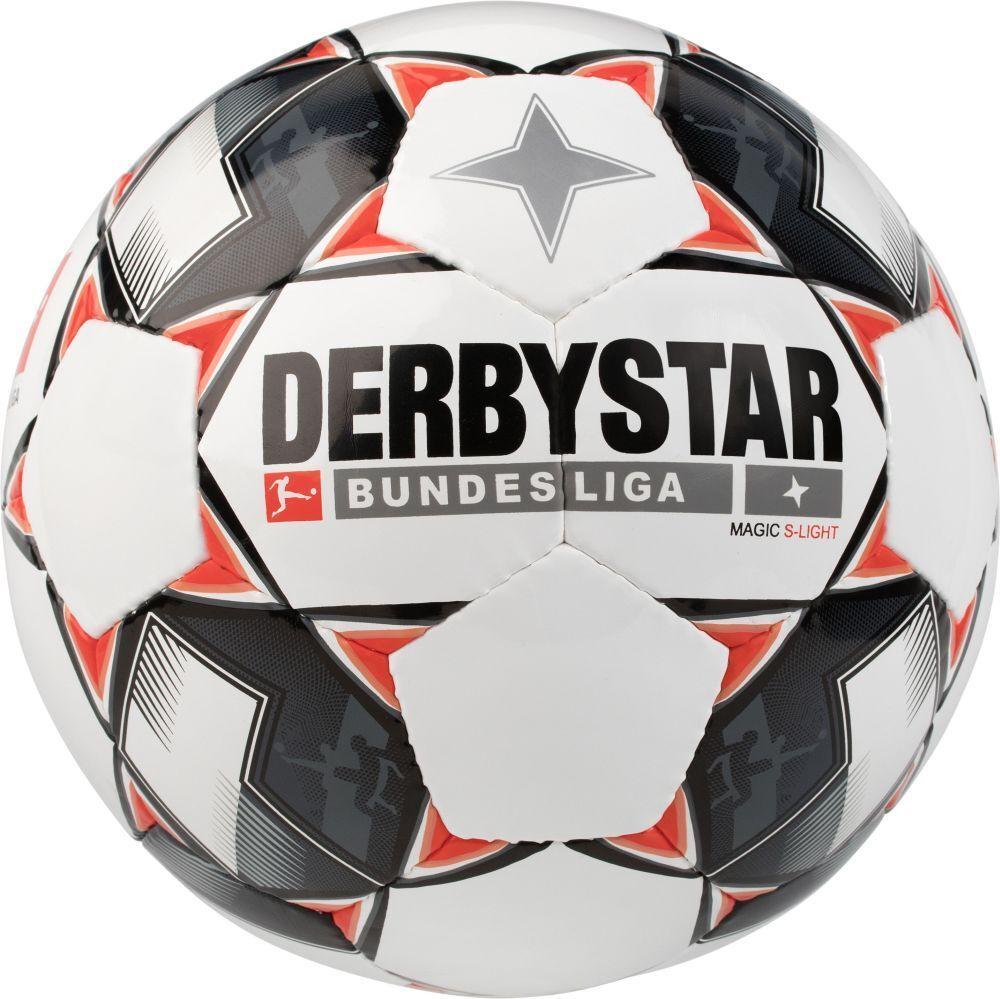 Derbystar fútbol liga liga liga Magic S-light pelota pelota de entrenamiento blanco negro rojo  contador genuino