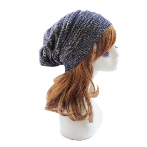 Women Men Knitted Oversized Slouch Baggy Beanie Hat Cap Skateboard Beret Ski Hat