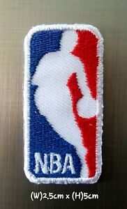 2f47986b76855 Details about NBA Small(2.5x5cm) Basketball Sport Patch Logo Embroidery  Iron,Sew on Clothes