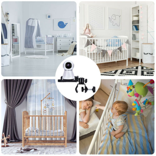 Baby Monitor Mount Bracket Adjustable 360° Rotatable Video Camera Holder Stander