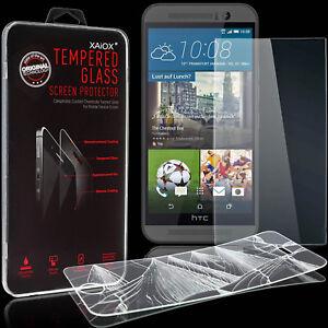 2x-Fuer-HTC-One-M9-Panzerfolie-Schutzglas-9H-Schutzfolie-Echt-Glas-Folie