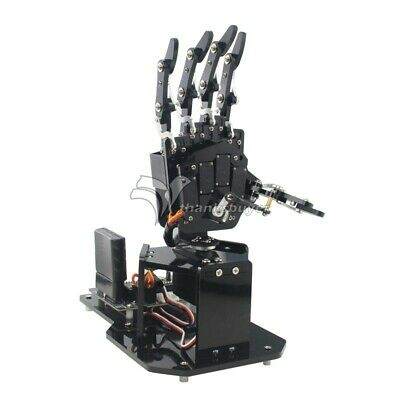 Open Source Bionic Robot Hand Right Hand Visual Identification for Raspberry Pi