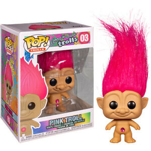 PINK-Good-Luck-Trolls-Trolls-with-Hair-3-75-034-Adorable-Funko-Pop-Vinyl-Figure